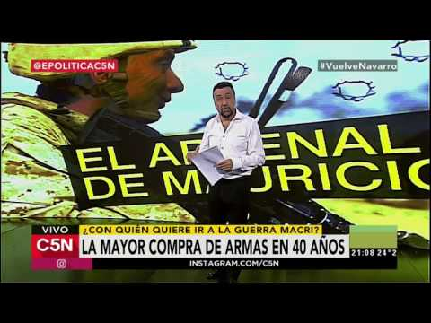 La escalofriante lista de armamento que Argentina pidió a EE.UU.