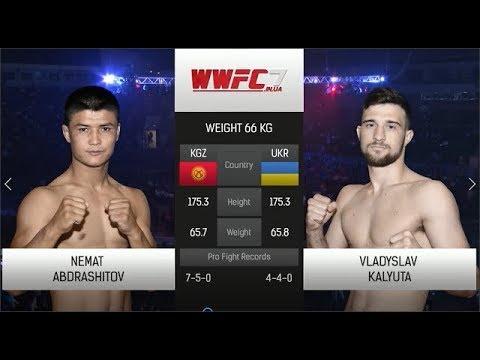 WWFC7 Nemat Abdrashitov vs Vladyslav Kalyuta Weight 66