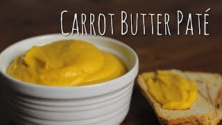 Carrot Butter Pate | Sage Restaurant Recipe