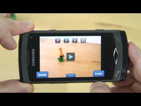 Samsung S8500 Wave Test Kamera