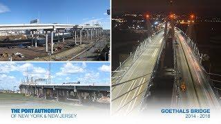 Thời gian trôi đi xây dựng cầu Goethals
