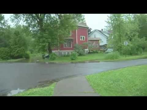 June 19 - 20 2012 Record Breaking Flooding in Superior Wisconsin