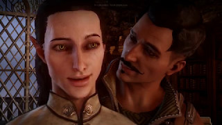 Dragon Age Inquisition  Секс сцена с Дорианом