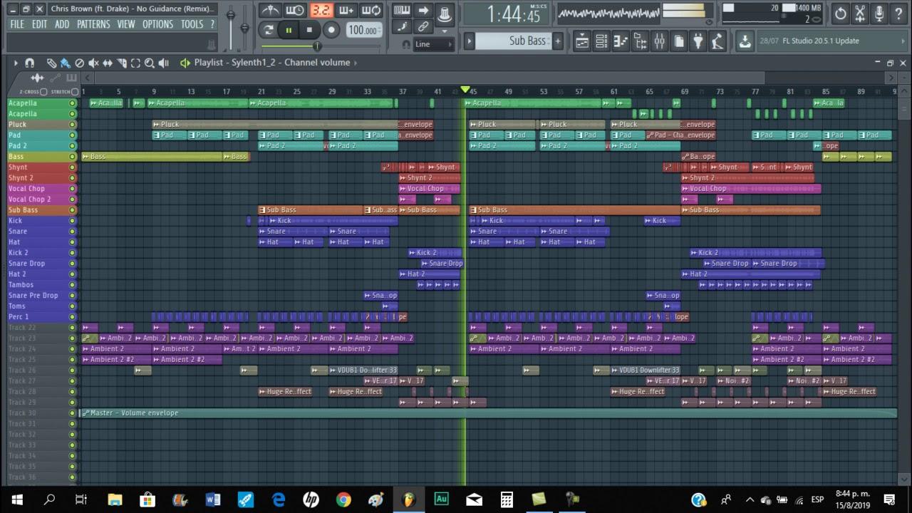 Chris Brown (ft. Drake) - No Guidance (JESUS Remix)