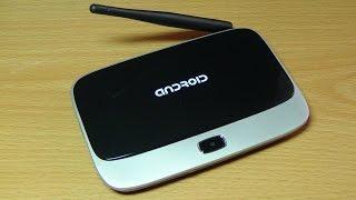 Android медіа хаб EKB311B розпакування і міні-огляд.