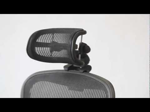 Positioning - Headrest for Herman Miller Aeron Chair