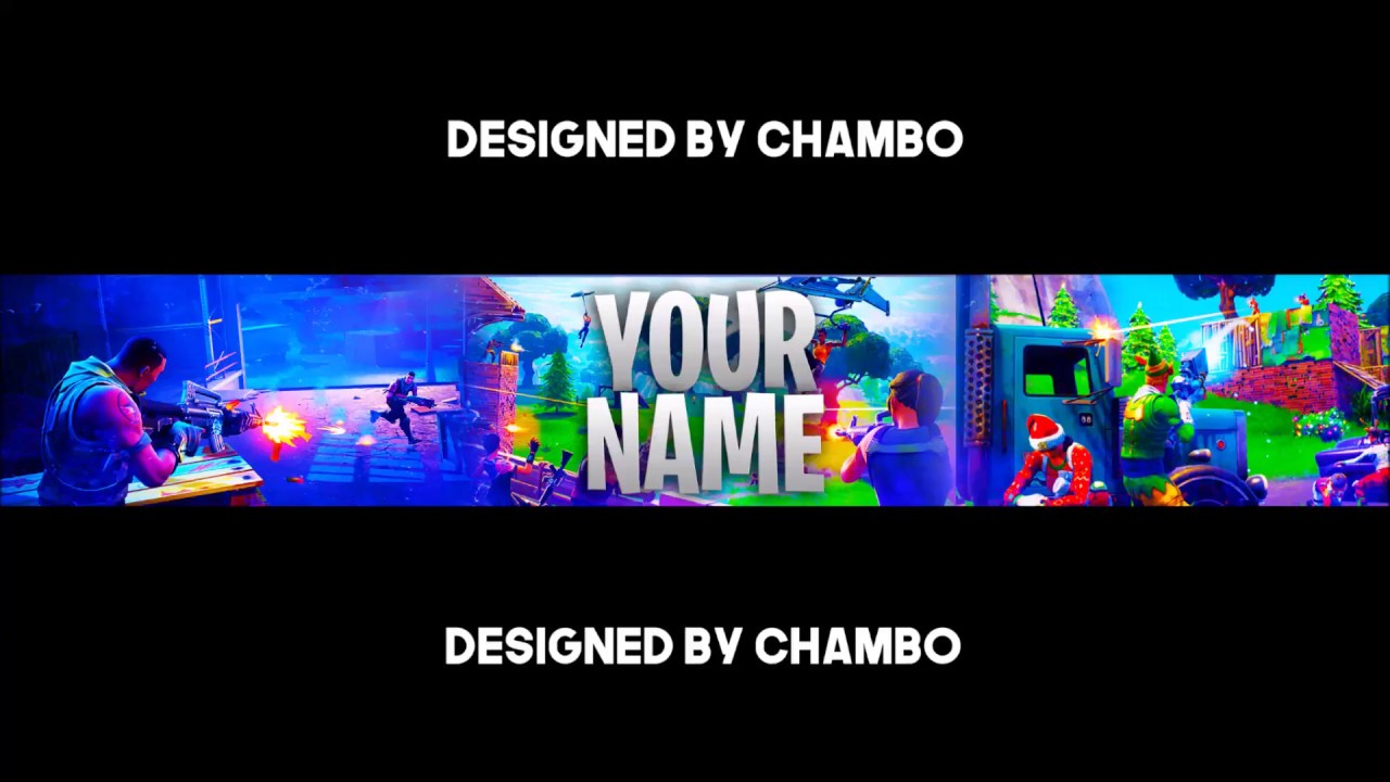 free fortnite banner template photoshop cs6 youtube. Black Bedroom Furniture Sets. Home Design Ideas