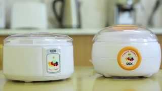 Йогурницы DEX DYM107, DYM- 108