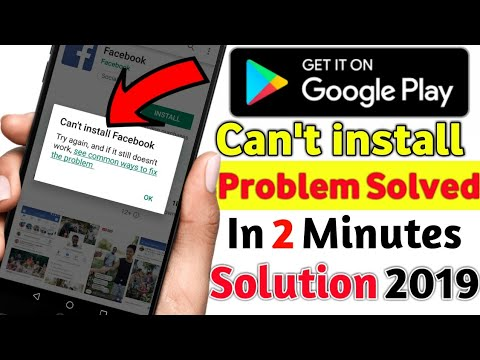 How To Solved Playstore Can't Install Problem In 2 Minutes 2019/NajiiExtra