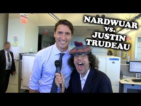Nardwuar vs. Prime Minister Justin Trudeau