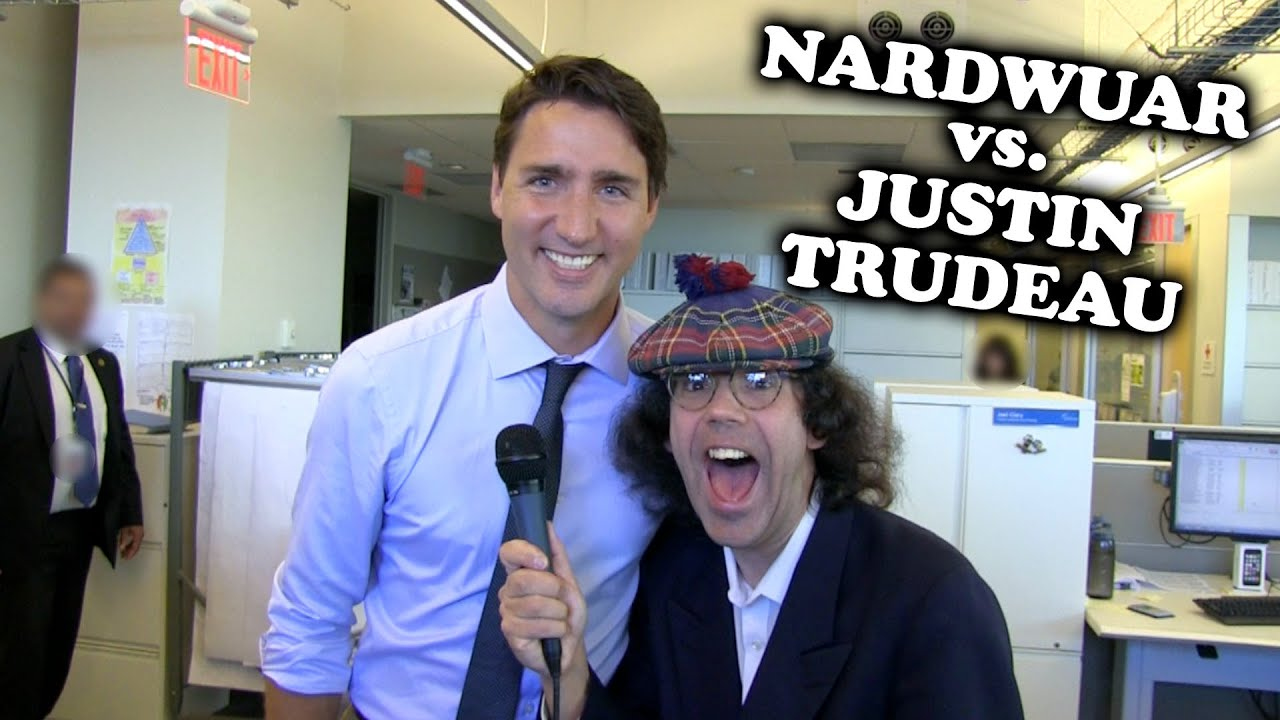 Nardwuar, the most mysterious man in music journalism   The