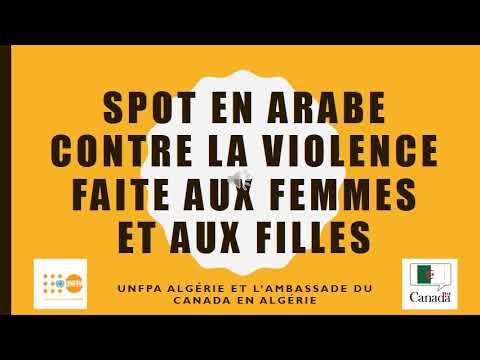 صندوق الأمم المتحدة للسكان في الجزائربالشراكة مع سفارة الكندا بالجزائر: 03 تسجيلات إذاعية لحملة مكافحة العنف القائم على النوع