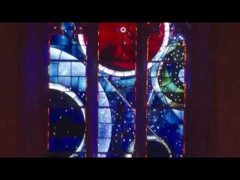 "National Cathedral Tour: ""Space"" Stained Glass Window"