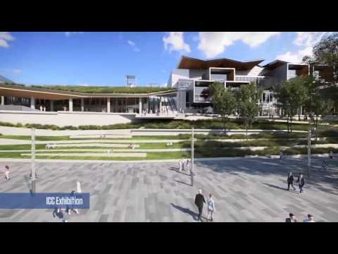 Darling Harbour Live - International Convention Centre Sydney Flythrough