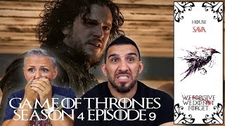 Game of Thrones Season 4 Episode 9 'The Watchers on the Wall' REACTION!!