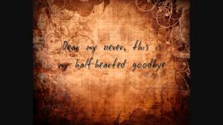 Paradise Fears - Yours Truly - Lyrics