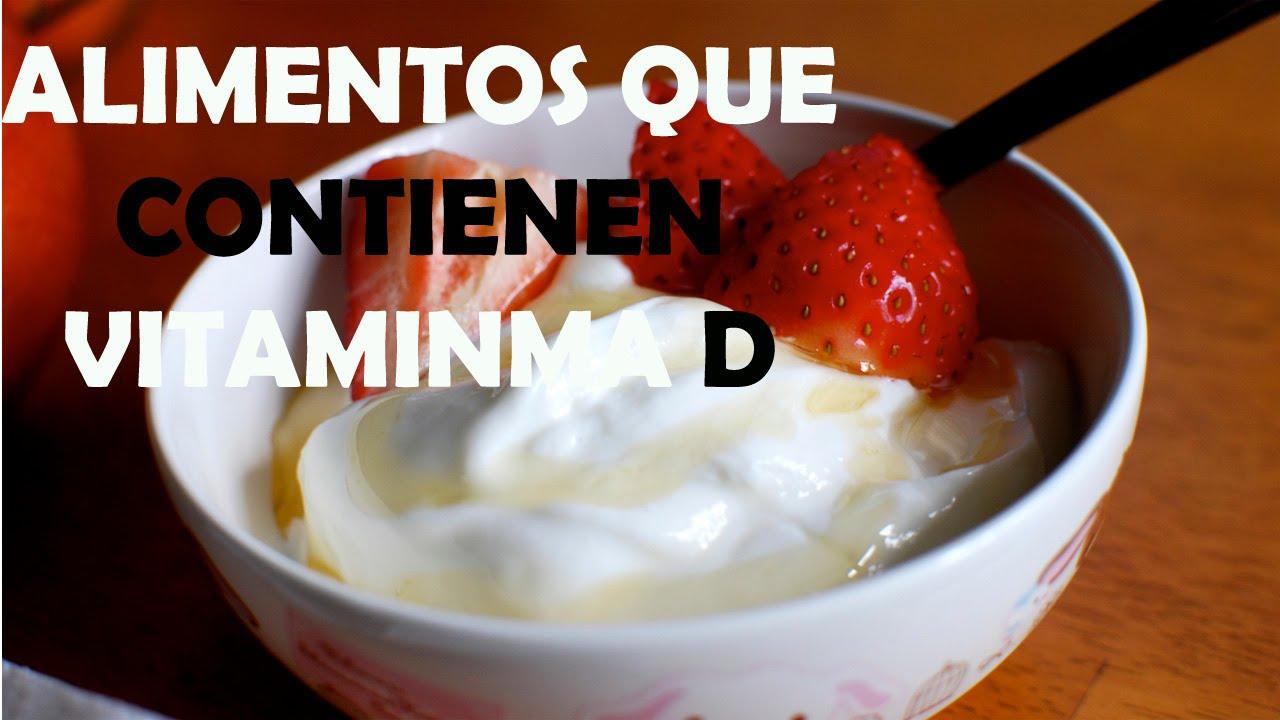 Alimentos que contienen vitamina d alimentos ricos en for Comidas con d