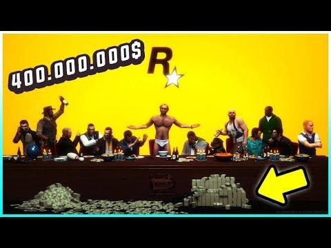 SO VIEL GELD HAT ROCKSTAR MIT GTA 5 GEMACHT!!!