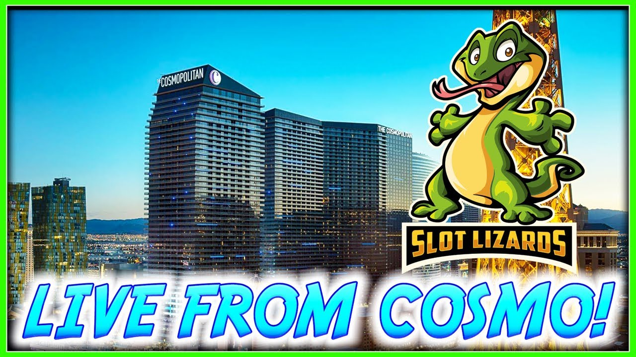 LIVE SLOT PLAY! Our 1st Live Stream from The Cosmopolitan in Las Vegas!