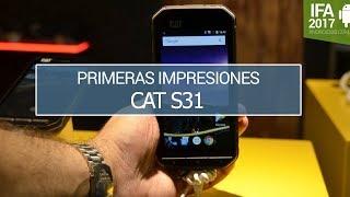 cat S31, probamos el teléfono ultrarresistente de CAT
