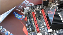 ASUS Rampage III Gene Republic of Gamers mATX Core i7 Motherboard Unboxing and First Look