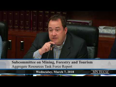 House Subcommittee on Mining, Forestry, and Tourism  3/7/18