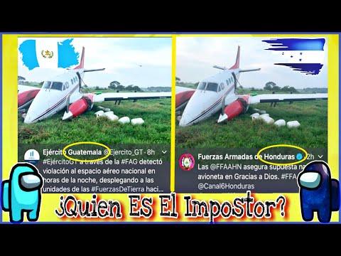 Las Fuerzas Armadas De Honduras Reportan Un Decomiso Que Realmente Fue En Guatemala!