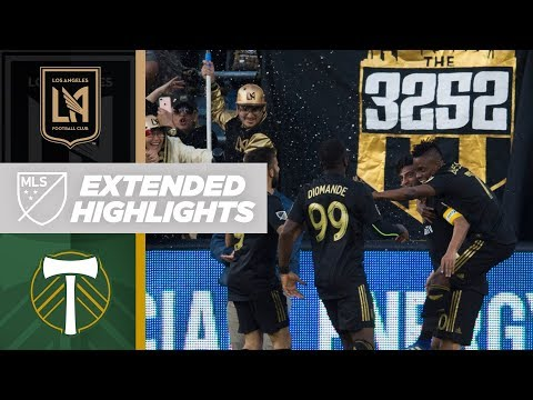 Carlos Vela and LAFC Stun Visiting Timbers | Extended Highlights