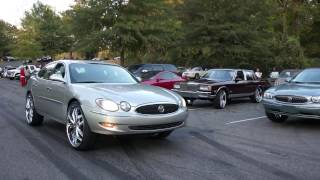 Buick LaCrosse on 6's at Mlk Park in Memphis TN