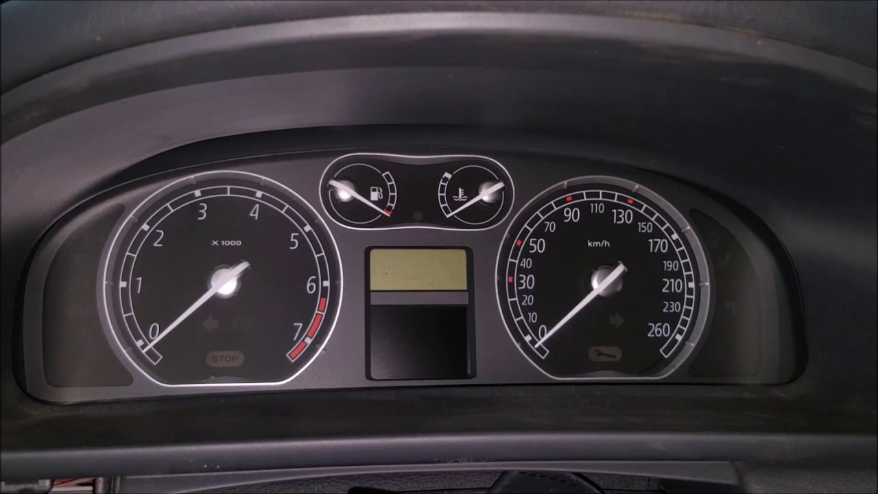 Renault Laguna Ii Phase I Dashboards Gauges Tachometer All About