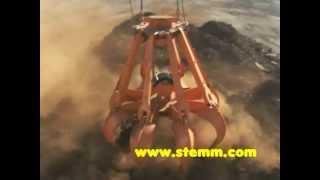 STEMM Four Rope Orange Peel Grab for Scrap