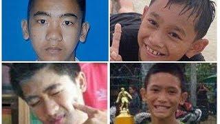 Tailandia: los chicos rescatados sólo pudieron ver a sus familias a través de un cristal