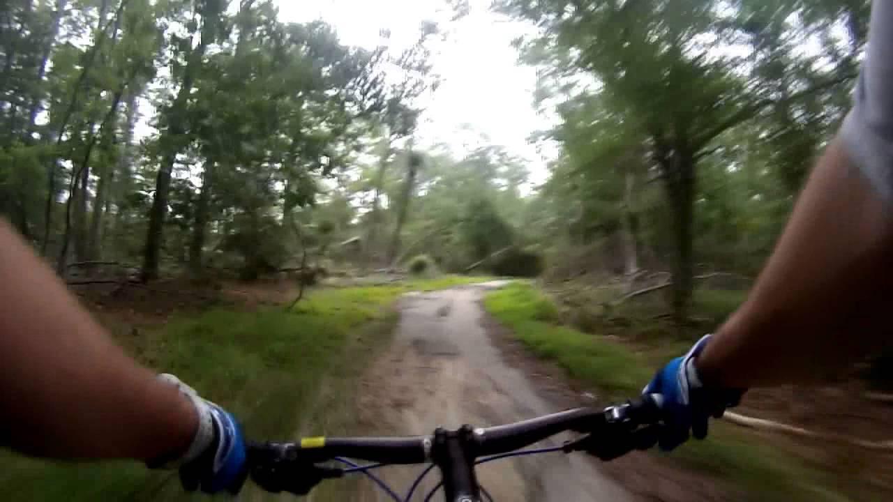 Mountain Biking Allaire State Park - YouTube