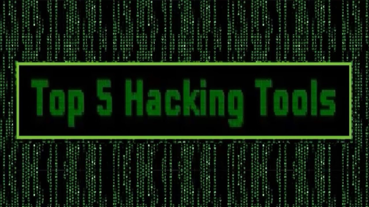 Top 5 Hacking Tools | Pro Hackers (2016) - YouTube