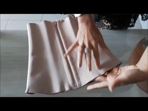 2171d3e12 Detalhes da cinta com ziper - YouTube