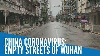 China coronavirus: Empty streets of Wuhan