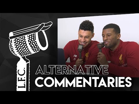 Alternative Commentaries: Gini & Oxlade-Chamberlain   'Here go the road runners'