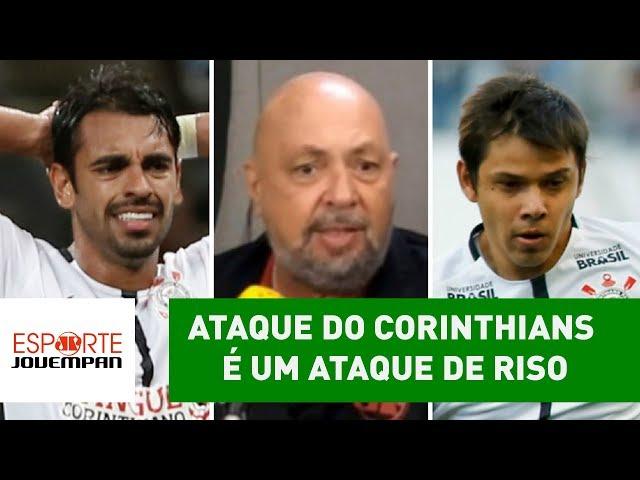 """""""Ataque do Corinthians é um ataque de RISO"""", dispara narrador"""
