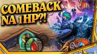 Comeback na 1HP?! - Hearthstone USTAWKA