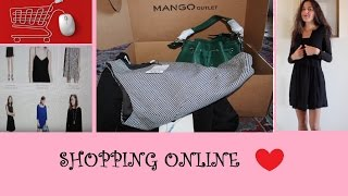 SHOPPING SU MANGO OUTLET | ordino, spacchetto, indosso