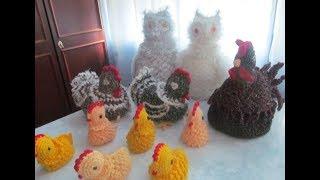 Вяжем очаровательного цыпленка