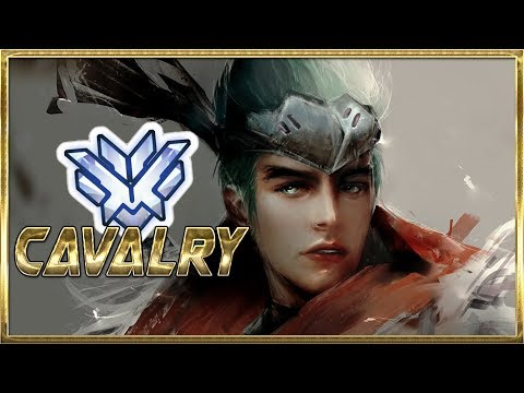 """""""CAVALRY"""" FASTEST GENJI BLADES IN NA - OVERWATCH MONTAGE thumbnail"""