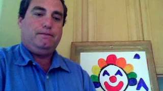 Painting With Mr. Kindergarten: Rainbow Clown