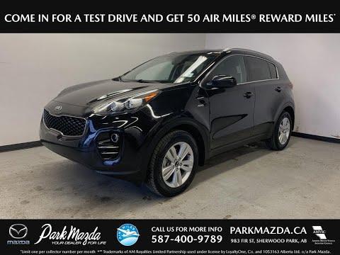 BLACK 2017 Kia Sportage  Review   - Park Mazda