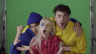 Paramore - Hard Times (Green Screen Outtakes)