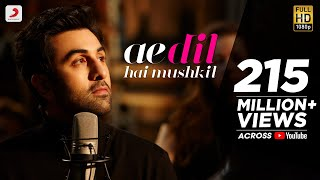 Ae Dil Hai Mushkil  Full  Video Song  | Karan Johar | Aishwarya, Ranbir, Anushka