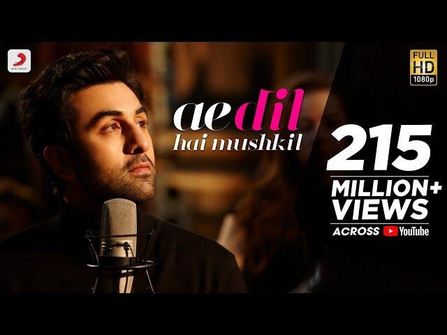 Ae Dil Hai Mushkil - Full Song Video | Karan Johar | Aishwarya, Ranbir, Anushka | Pritam | Arijit