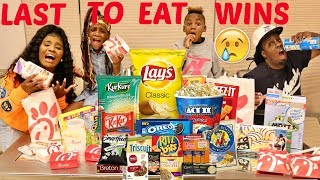 LAST TO EAT WINS
