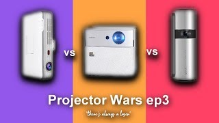 Best DLP Projectors 2018! Xgimi CC vs Wowoto T8e vs JmGo P2 - Projector Wars ep3