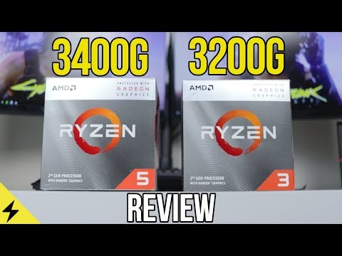 Expectations Broken! - AMD Ryzen 3400G & 3200G APU Review (1080p Gaming Benchmarks)